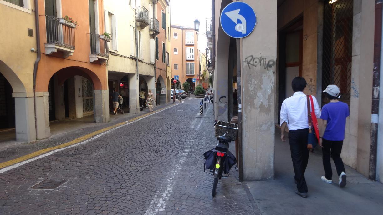 near Hotel Giotto